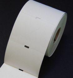 Polccímke 38x55mm Hőpapír Kartoncímke