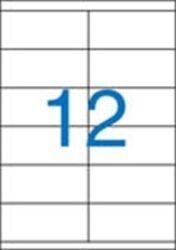A4 Etikett, univerzális, 105x48 mm, VICTORIA, 1200 etikett/csomag