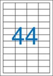 A4 Etikett, univerzális, 48,5x25,4 mm, VICTORIA, 4400 etikett/csomag