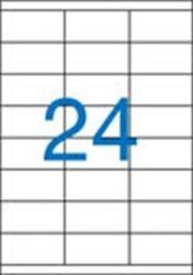 A4 Etikett, univerzális, 70x35 mm, VICTORIA, 2400 etikett/csomag