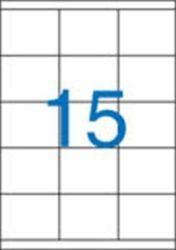 A4 Etikett, univerzális, 70x50,8 mm, VICTORIA, 1500 etikett/csomag