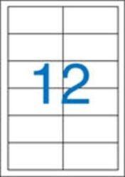 A4 Etikett, univerzális, 97x42,4 mm, VICTORIA, 1200 etikett/csomag