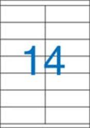 A4 Etikett, univerzális, 105x40 mm, VICTORIA, 1400 etikett/csomag
