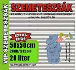 Szemeteszsák, 25 l, 20 db