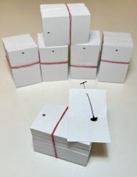40x60 mm Perforált fehér függő címke/etikett