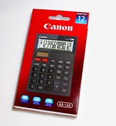CANON AS 120 környezetbarát asztali számológép