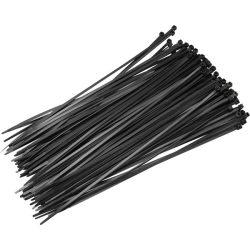 Kábelkötegelő FEKETE 200 X 2,5 mm